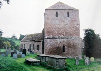 Garway : The detached tower of church - Photo by John Yarnold